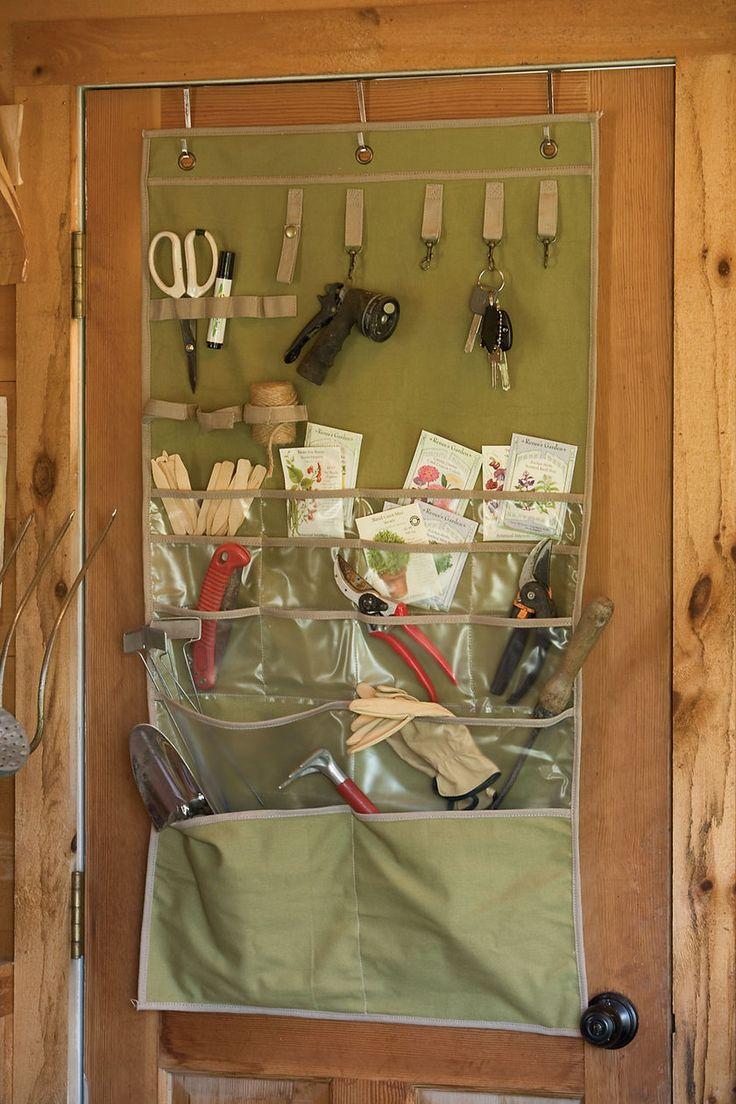 clever garden tool storage