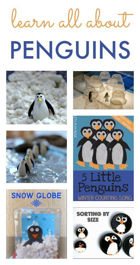 penguin activities, penguin unit, polar theme, Antarctica unit, learn about the South Pole unit, penguin crafts for kids