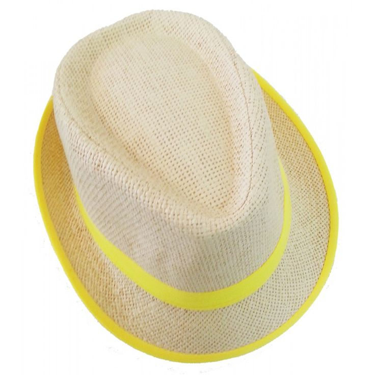 Gangster Style Hat- Yellow