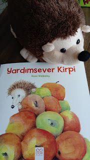 çocuk kitapları, aktiviteler, oyunlar, hayaller...: Yardımsever Kirpi