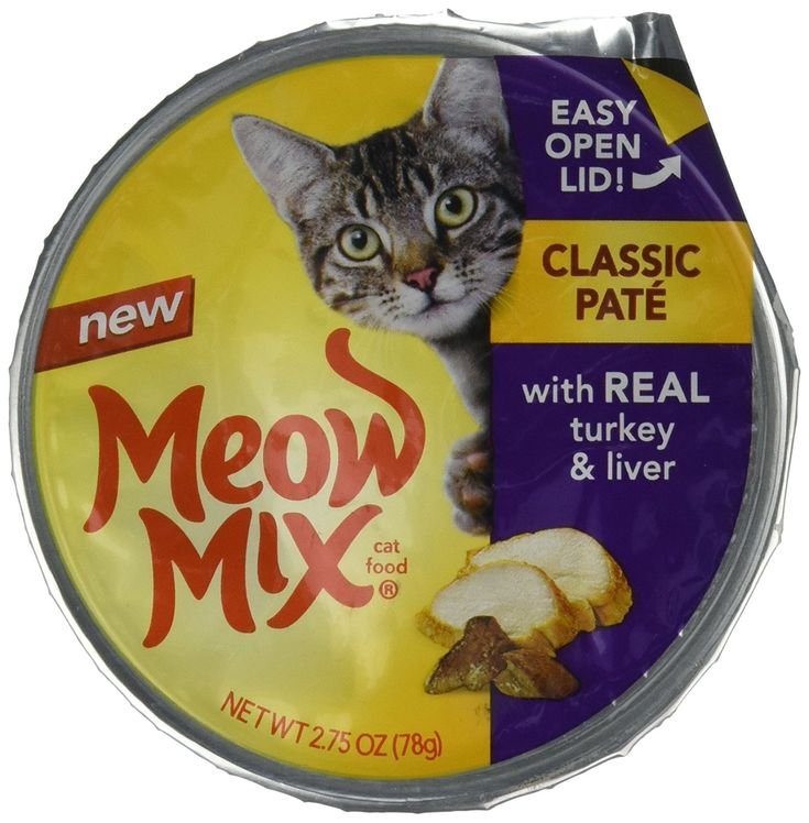 meow mix classic pate with real turkey and liver wet cat food 2 75 ounce cups pack of 12 read more at the image link this is an affiliate link and i