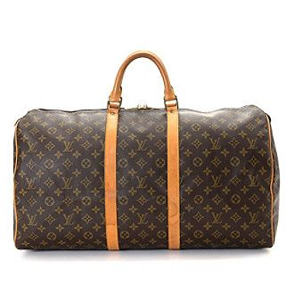 Louis Vuitton Keepall 55 Travel Bag - Vintage