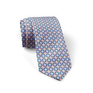 "Silk Tie ""Knossos"" Cyclades"