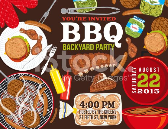 12 Best Company Bbq Images On Pinterest | Invitation Templates