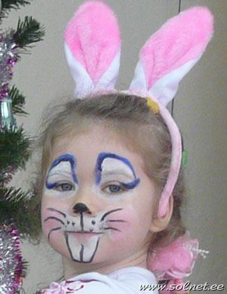 Самодельный новогодний костюм зайца