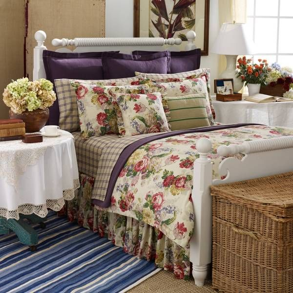 Surrey Garden Bedding By Ralph Lauren Quot Roses Are Red