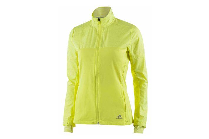 #Adidas Supernova Storm Jacket W - damska, lekka kurtka biegowa. Materiał chroni przed wiatrem, deszczem,śniegiem i odprowadza nadmiar wilgoci na zewnątrz.  Polecana do treningu w niesprzyjających warunkach pogodowych. #kurtki #jesienzima2015 #climaproof #storm