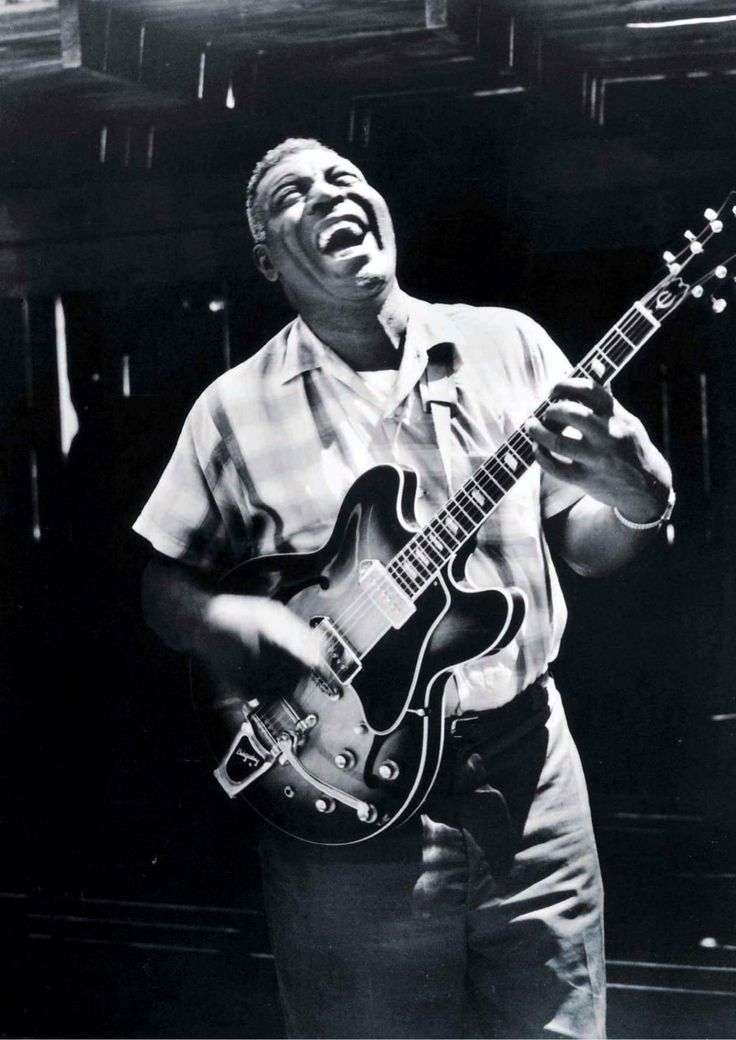 """Why don't you hear me cryin'?"" Smokestack Lightnin'.  Howlin'  Wolf."