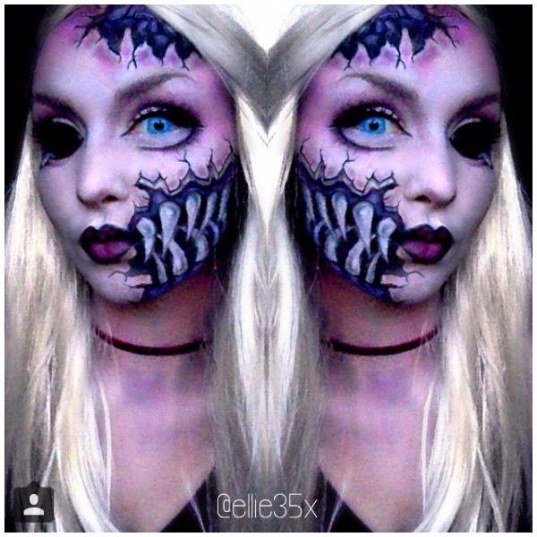 17 Meilleures Id Es Propos De Cracked Doll Makeup Sur Pinterest Maquillage Fantastique