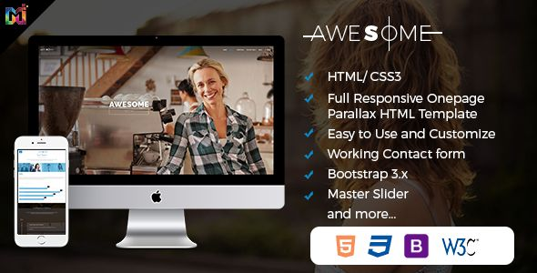 Awesome is Responsive Onepage #Parallax #HTML Template for every business is here http://bit.ly/2qLpPKF #HTMLTemplate #HTML5 #mUltiPurpose #FreeThemes #FreeTemplates #ResponsiveWebDesign #SmallBusiness #Corporate #WebsiteDesigning #ResponsiveWebsite #WeekendVibes #LatestTrends #FurnitureStore #WebDev #eCommerceWebdesign