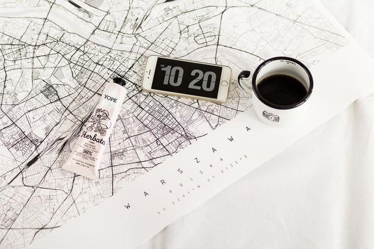 Spersonalizowane mapy od Maptu | small everyday Joys