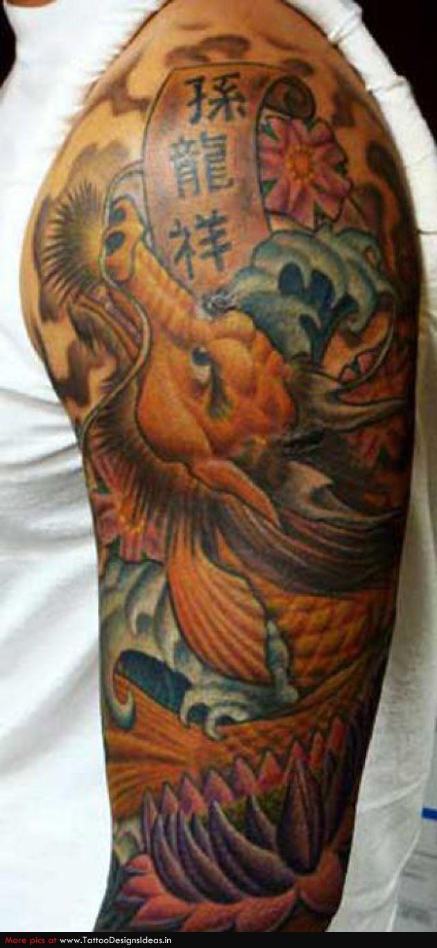 Best Koi Fish Tattoo Designs