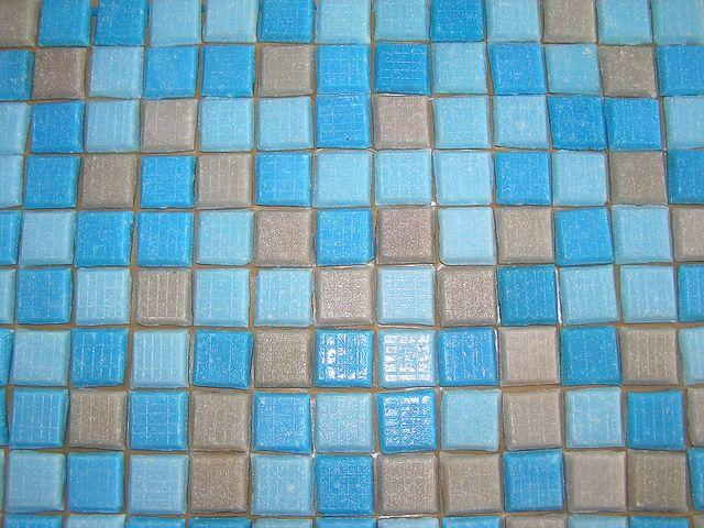 Kostamosaik, Mosaik från Kosta glasbruk, 50-60tal   by Bortbytingen