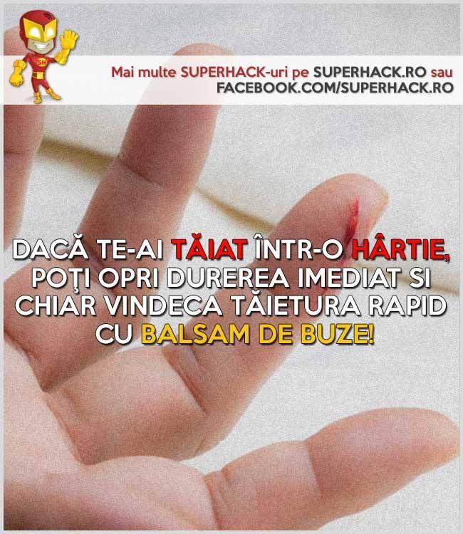 Remediu eficient pentru tăieturile în hârtie! - SuperHack.ro