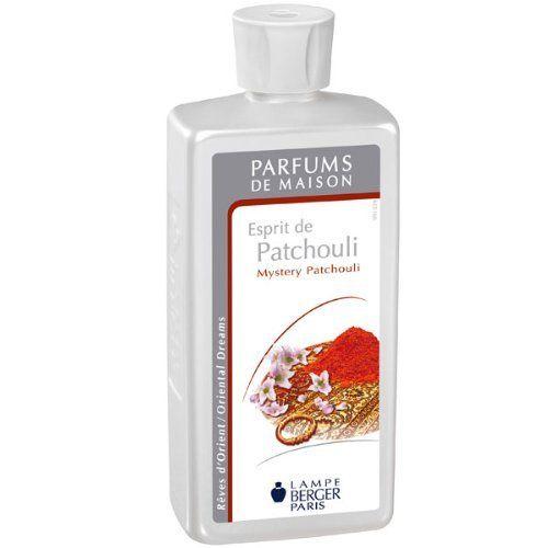 Lampe Berger 115047 Recharge parfum de maison pour lampe à parfum Esprit De Patchouli 500ml: Le parfum esprit de patchouli de Lampe Berger…