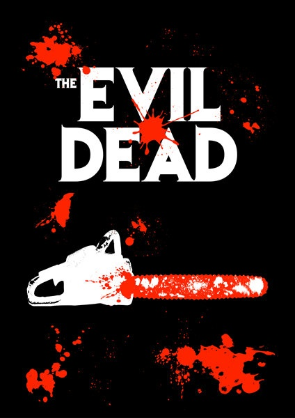 The Evil Dead. Sam Rami's original version all the way. Never read from the book of the dead!