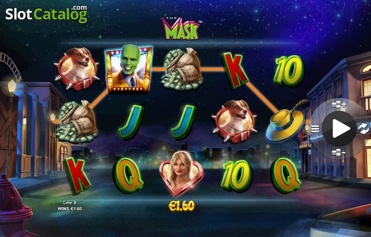 Win Screen 2. The Mask (Video Slot from NextGen)