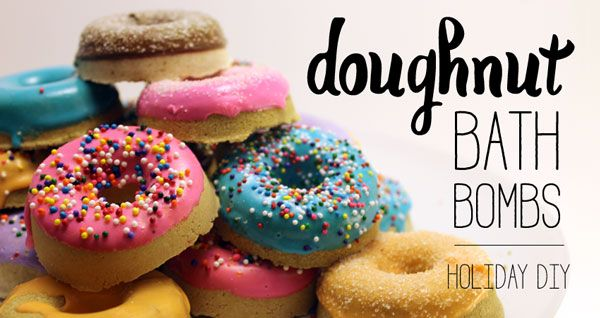 Doughnut Bath Bombs