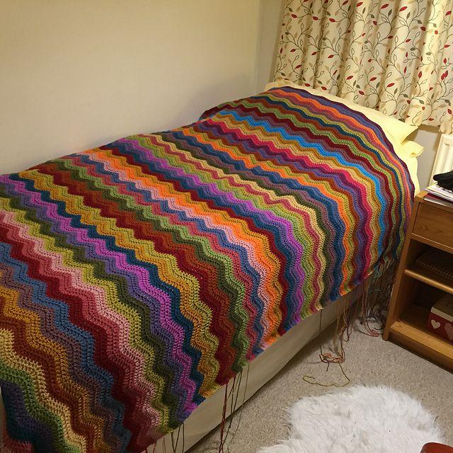 401 besten Crochet: Ripple love Bilder auf Pinterest | Crochet ...