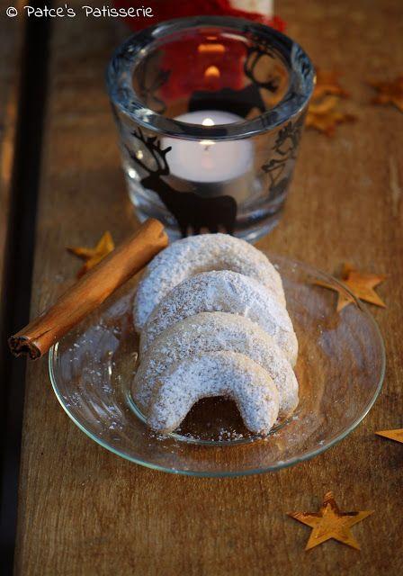 Zimtkipferl ohne Nüsse #ichbacksmir #adventskaffee