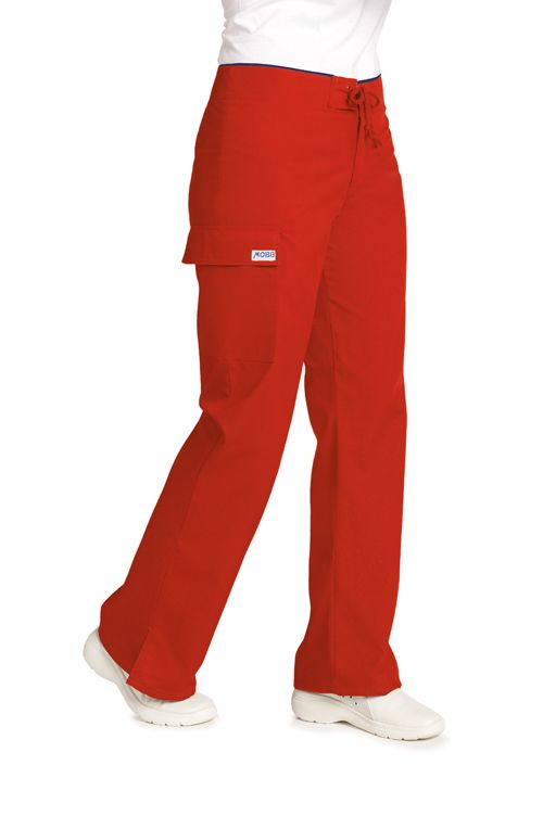 Low Rise Lace Up Petite Flare Pant-28 inch Dixie Uniforms Medical Wear Canada