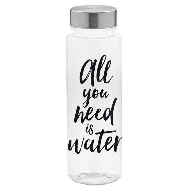 Botella de agua de plástico - hecho a mano en DaWanda.es