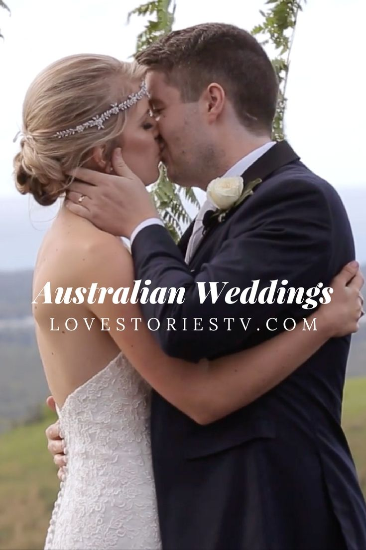 Are you an Aussie bride? Thinking about getting married in down under? Watch REAL wedding videos of couple who got married in Australia on lovestoriestv.com!