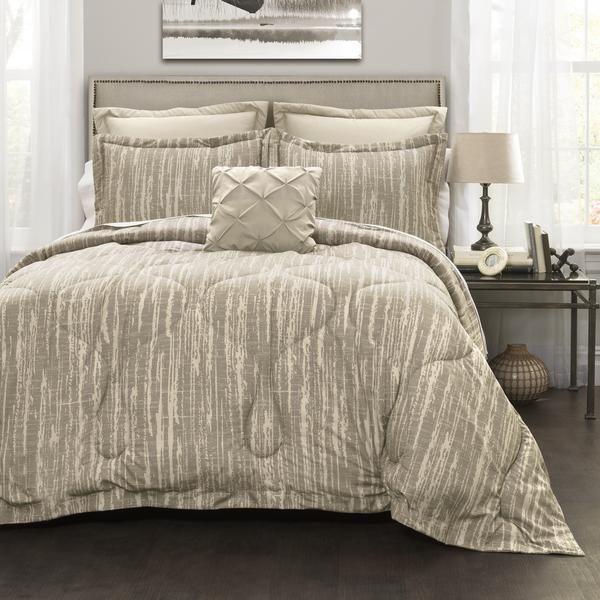 Rustic Stripe 6-Piece Comforter Set