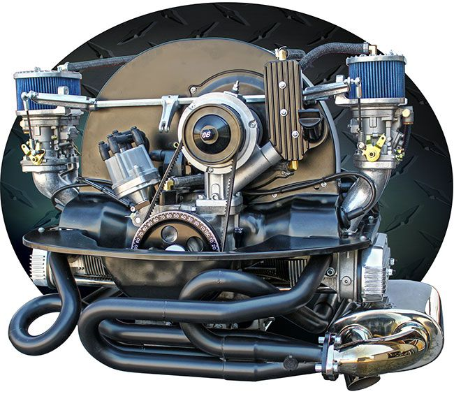 Turnkey Engines / Custom Aircooled VW Motors, built by Pat