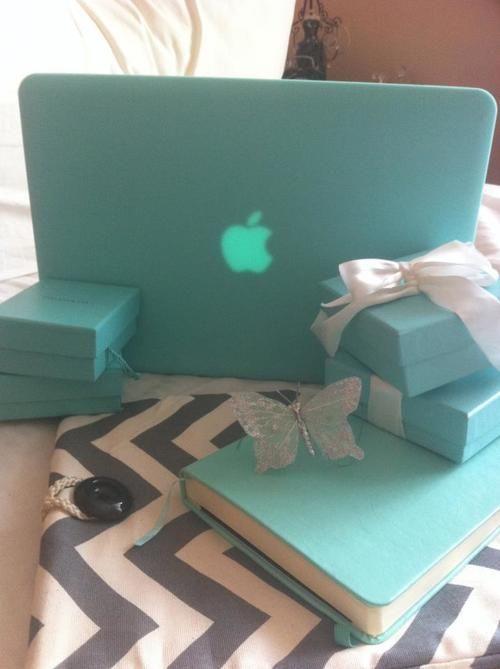 Macbook tiffany blue