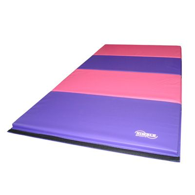 Pink & Purple Folding Gymnastics Mat | Nimble Sports