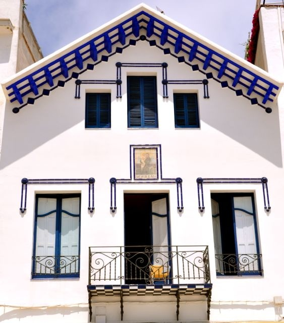 19 best images about sitges casco antiguo y sant sebasti on pinterest santiago patio and beaches - Arquitecto sitges ...
