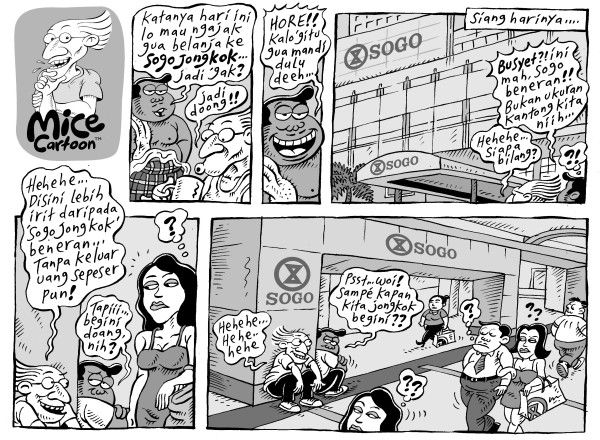 Mice Cartoon: Sogo Jongkok (Kompas, 30.06.2013)