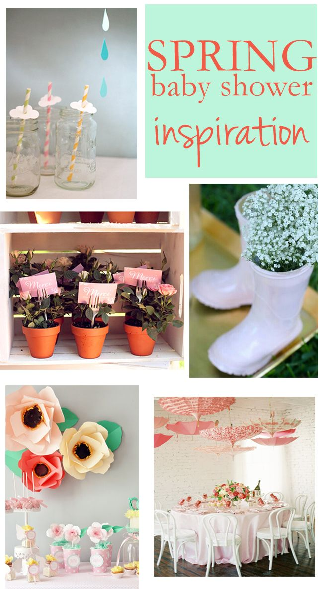 5 Lovely DIY Spring Baby Shower Ideas on @BabyList Baby Registry