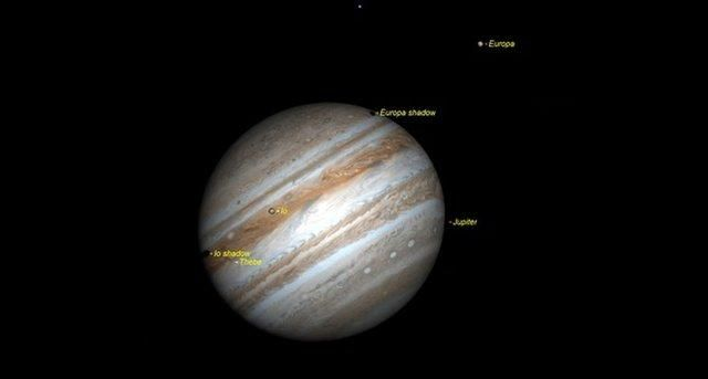 Night Sky: Visible Planets, Moon Phases & Events, May 2017