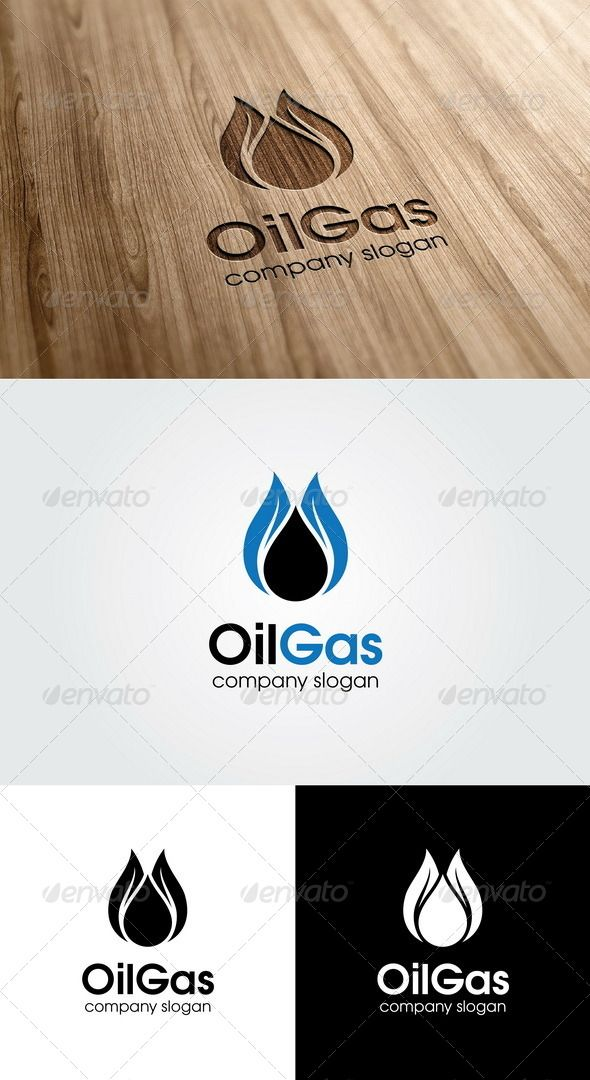 Oil Gas Logo Template - GraphicRiver Item for Sale