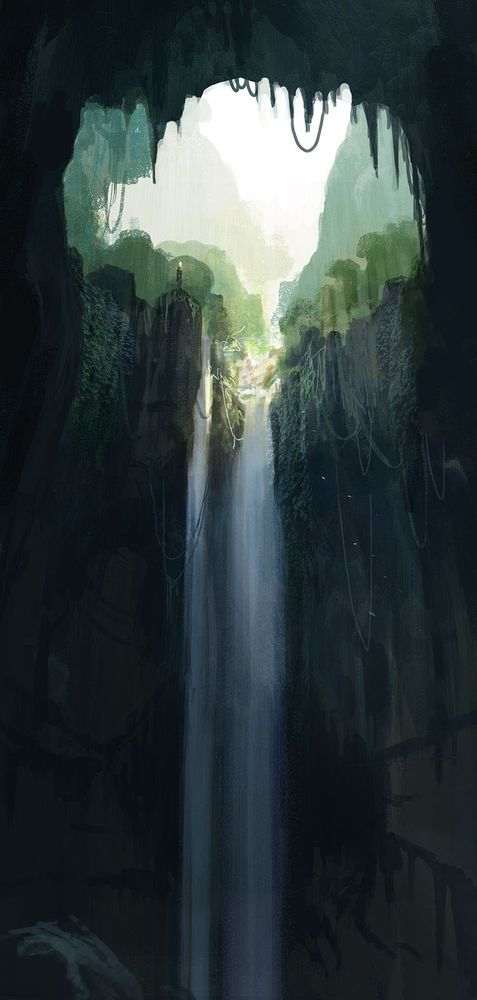 119 best mathieu lauffray images on pinterest comic for Waterfall environment