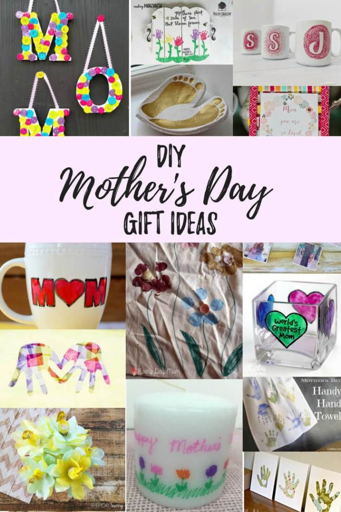 Mother S Day Gift Gift Ideas For The Whole Family In 2019 Diy