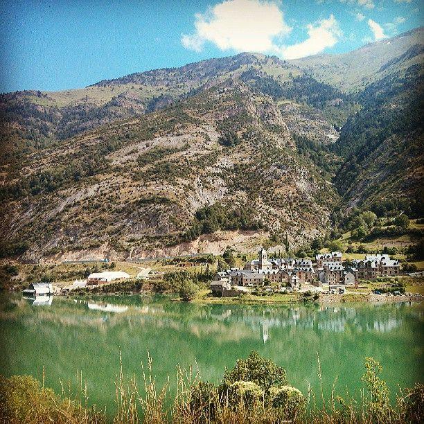 Pantano de Lanuza, Pirineos Sur, Huesca, Aragón #Spain