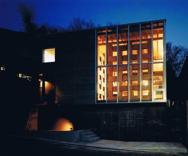Wood Block House, Nara City, Japan by Tadashi Yoshimura Architects