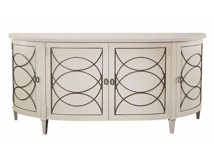 Hickory Chair Dining Room Duchamp Demilune Sideboard Base Only