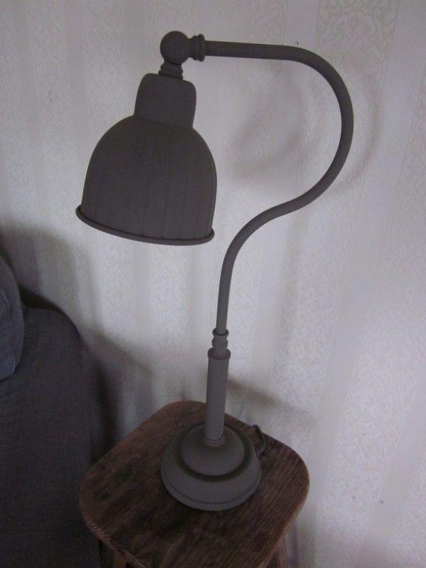 Geniaal! Simpele lamp wordt landelijk door krijtverf toe te passen. Welke.nl