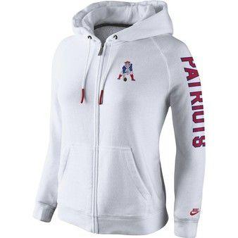 Patriots throwback hoodie