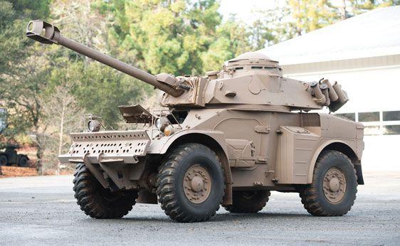 Eland 90 Mk7 Light Armored Car