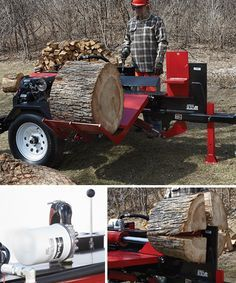 NorthStar Horizontal Log Splitter with Log Lift — 42-Ton, 688cc Honda GX630 Engine