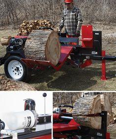 NorthStar Horizontal Log Splitter with Log Lift — 42-Ton, 688cc Honda GX630 Engine