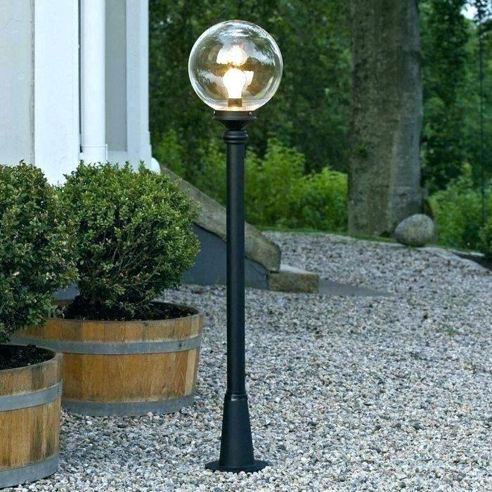 Mid Century Modern Exterior Lighting, Mid Century Modern Outdoor Light Post