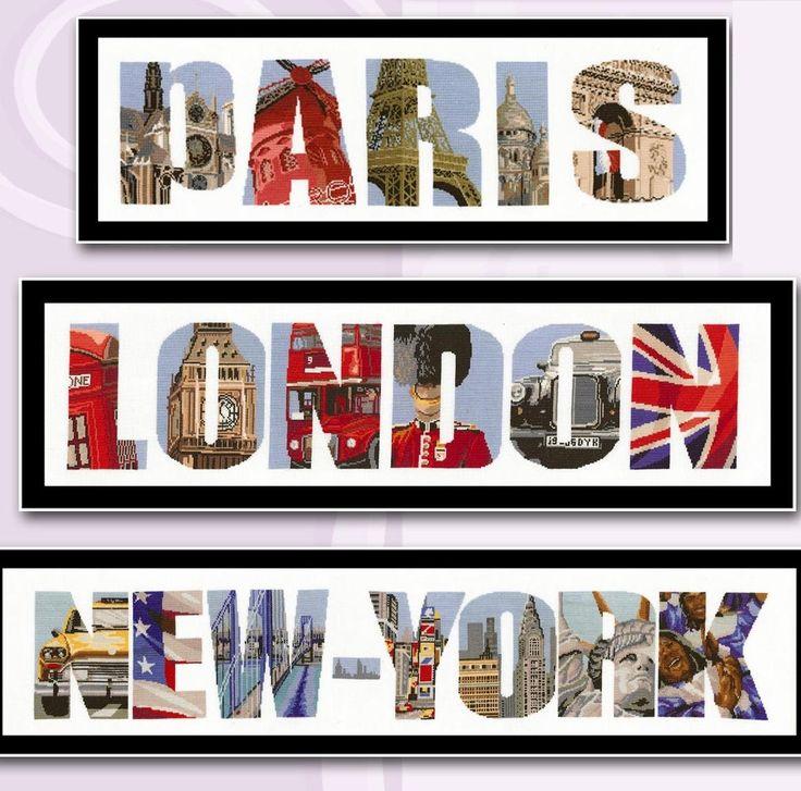 Paris-London-New York