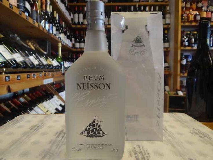 Rhum NEISSON Blanc L'Esprit 70% #rhum #neisson #Toulouse