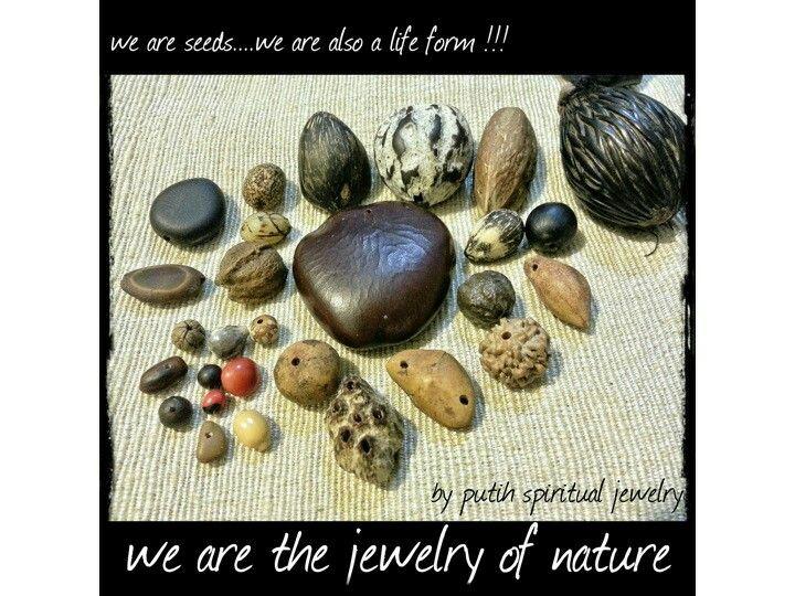 #naturaljewelry #seeds